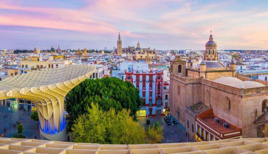 Sevilla city tour and shopping